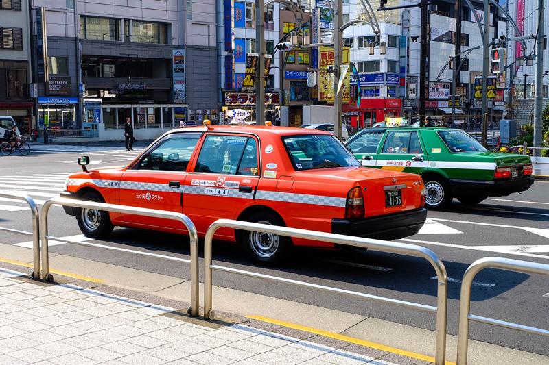 日本政府官方10月新推出 的士預約APP 上車前已計算好車費