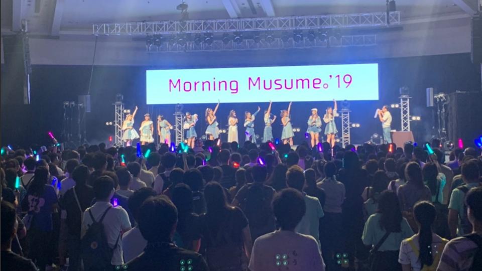 Morning娘 早安少女組來港開粉絲見面會 努力講廣東話 大讚粉絲熱情 / 日本在香港