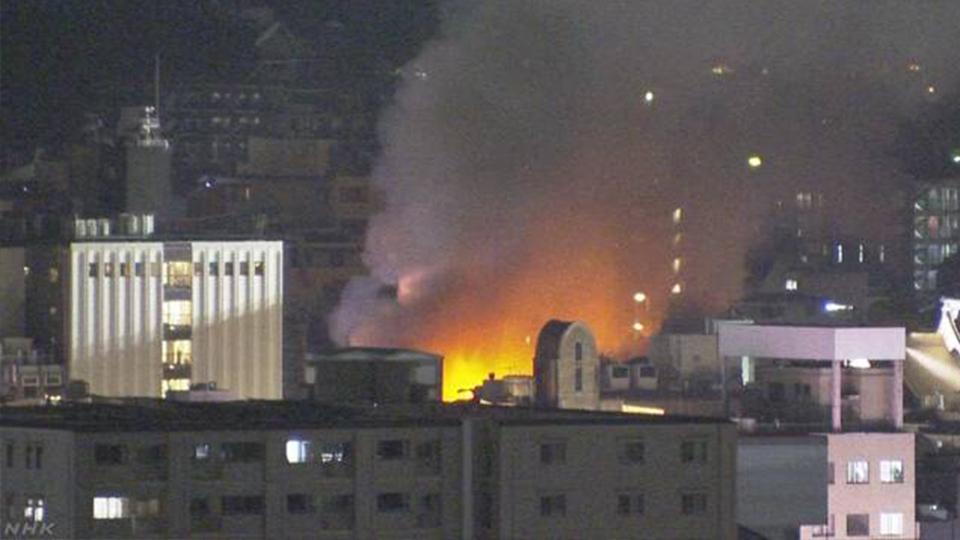 京都南祗園花見小路發生火警 遊客區料理店鄰近美登幸