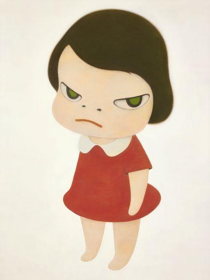 日本藝術家奈良美智 在香港鈔票上畫畫 100元港幣翻身拍賣變45萬