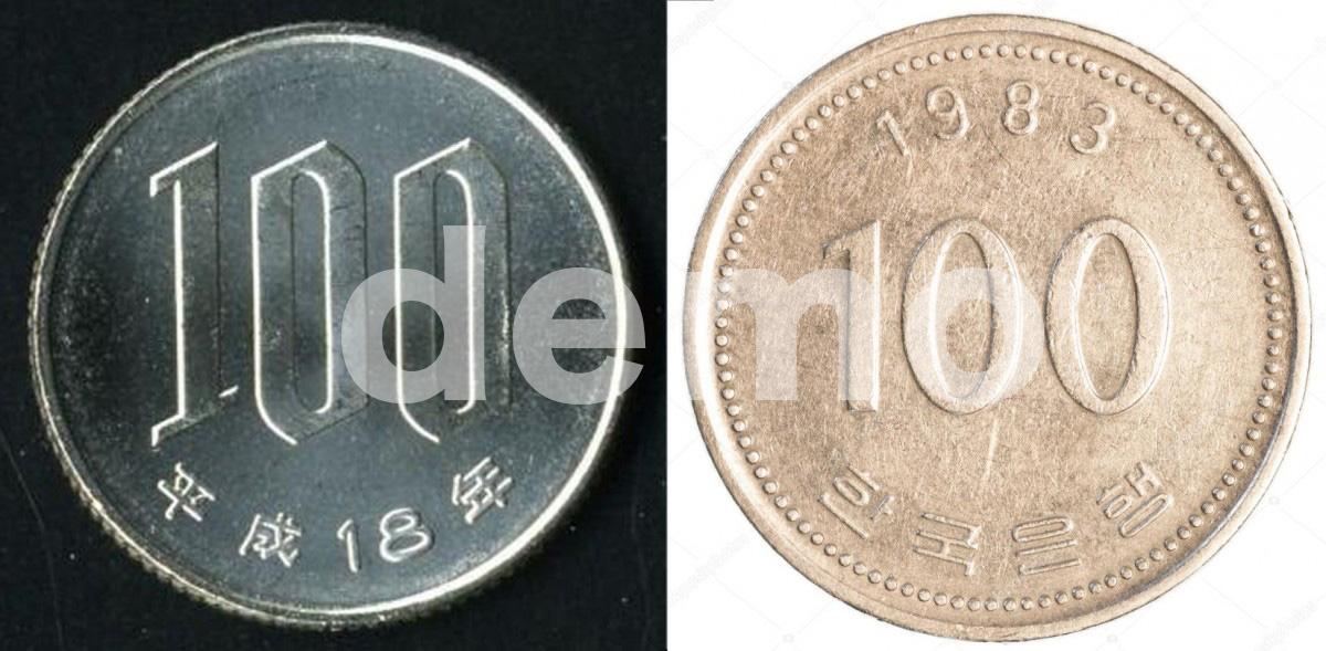 容易令人混亂的100、200日本韓國硬幣!找換時小心注意