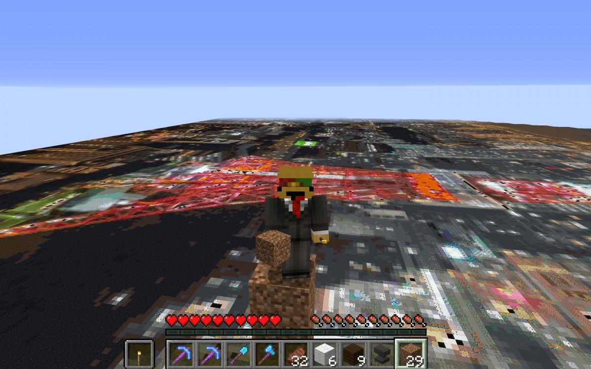 耗時兩年半 日本網友用Minecraft製作絕美擬真東京夜景