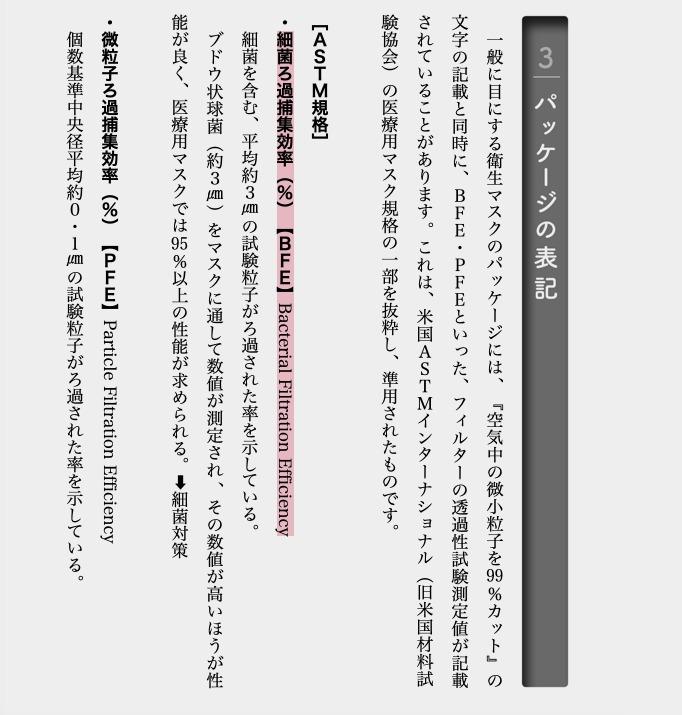 買口罩要留意的「日文字」防菌防毒效能關鍵 請小心注意