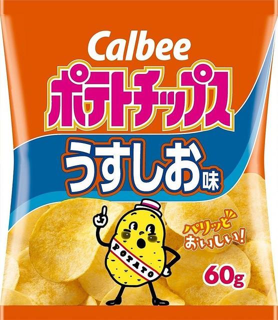 日本最受歡迎10大薯片!全國超級市場薯片銷售排行榜