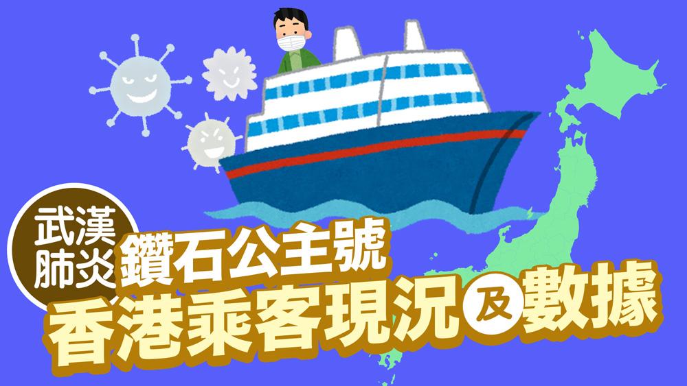 鑽石公主號/武漢肺炎:香港人乘客現況及相關數據