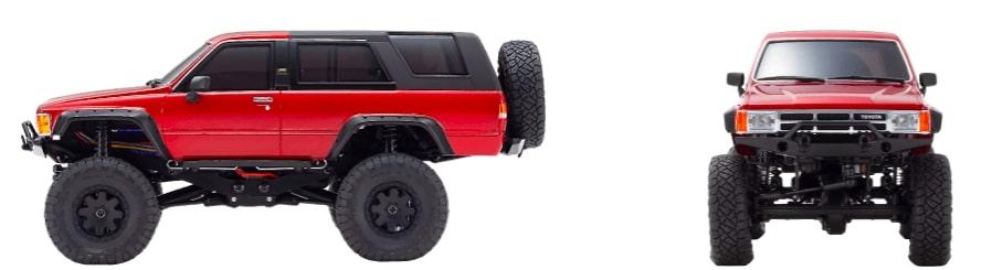 模型車在雪地上奔馳!京商KYOSHO兩款全新模型越野車