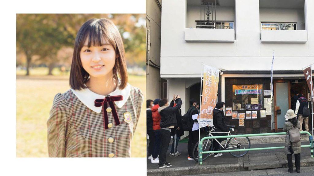 粉絲排隊朝聖 乃木坂46四期生遠藤さくら 家人經營蕎麥麵店