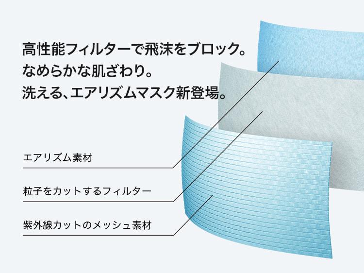 UNIQLO AIRism口罩登場 三層構造防飛沫花粉甚至紫外綫