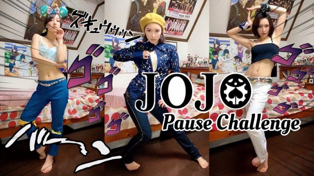 你也Jo了嗎?女孩們的「JoJo立」潮流 JoJo Challange拍片超好看有魔性