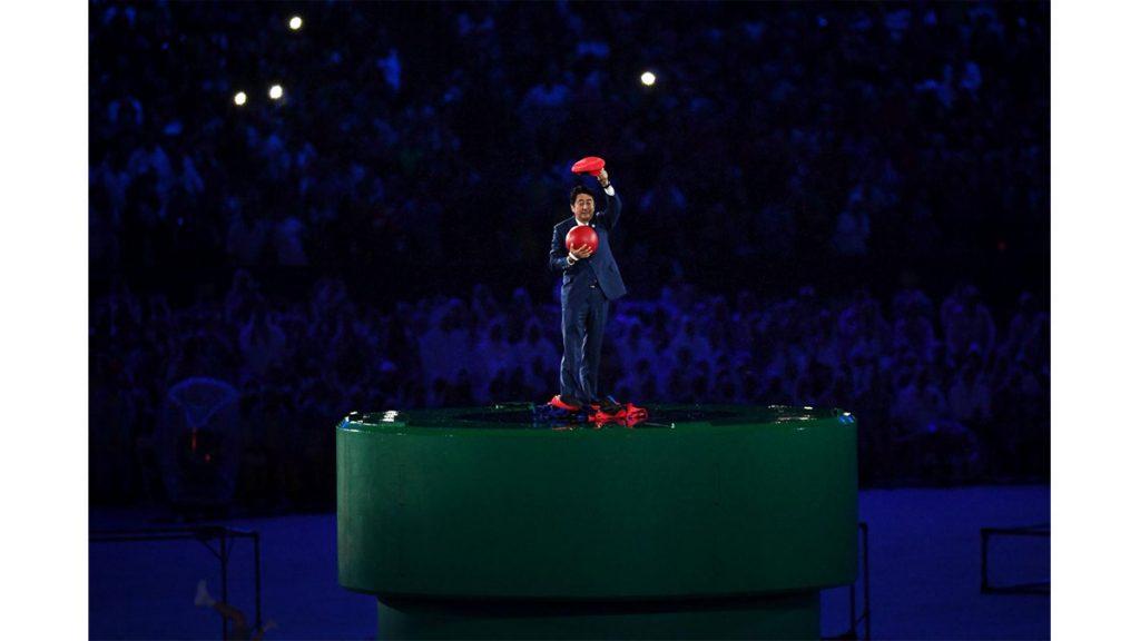 安倍前首相訪問 回憶2016里約奧運表示:其實當時不想扮成瑪利奧