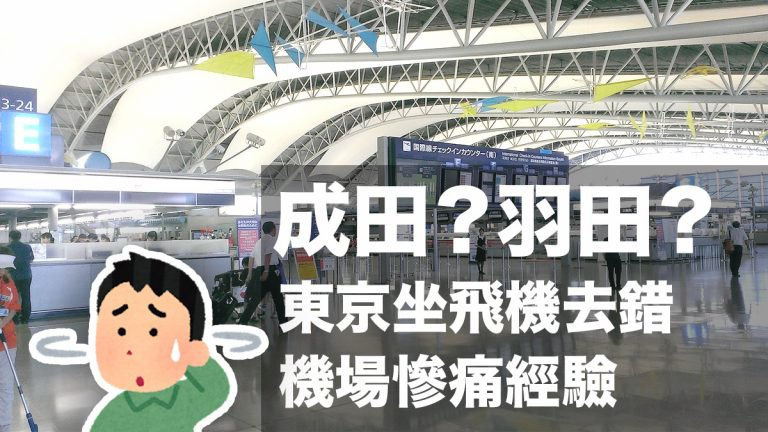 網民分享東京坐飛機慘痛經驗:明明要去成田機場卻去了羽田