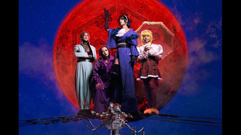 國籍+年齡+性別全部不明 令人驚艷的日本神秘樂隊「女王蜂」