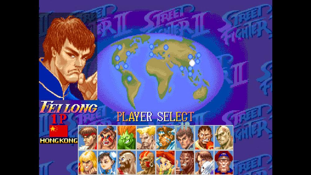 SWITCH懷舊遊戲 《超級街霸 II: Turbo》「超前進化」?  香港選手飛龍由特區旗直接改配五星紅旗